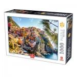 Puzzle  Deico-Games-76809 Cinque Terre - Italien