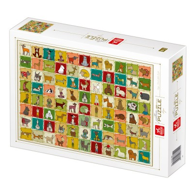 Puzzle Deico-Games-77141 Pattern Dogs