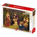 Puzzle  Deico-Games-77462 Marie Spartali Stillman : Fiammetta Singing