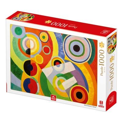 Puzzle  Deico-Games-77547 Robert Delaunay - Rythme, Joie de Vivre