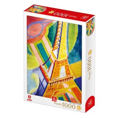 Puzzle  Deico-Games-77554 Robert Delaunay - Eiffelturm