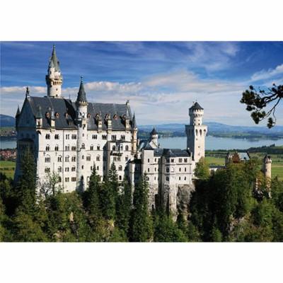 Puzzle DToys-50328-AB02-(75307) Deutschland: Schloss Neuschwanstein