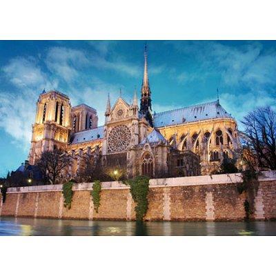 Puzzle  DToys-50328-AB34 Frankreich - Paris, Notre Dame de Paris