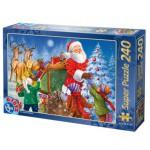 Dtoys-50670-XM-05 Weihnachtspuzzle - Die Verteilung der Geschenke