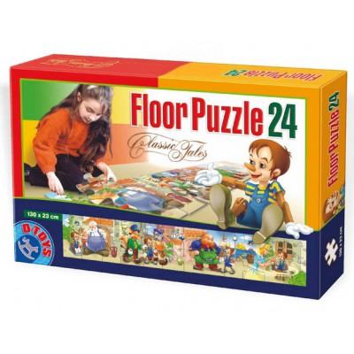 Dtoys-60037-FP-02 Riesen Bodenpuzzle - Pinocchio