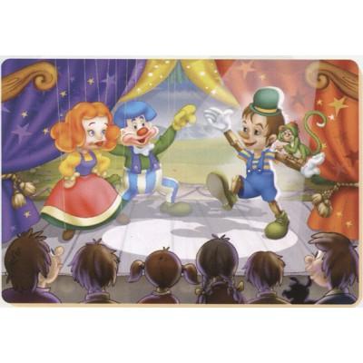 Puzzle  Dtoys-61430-BA-01 Pinocchio