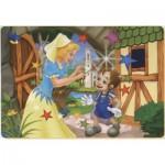 Puzzle  Dtoys-61454-BA-02 Pinocchio und die Fee