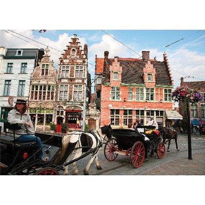 Puzzle DToys-62154-EC08 Belgien: Gent