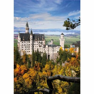 Puzzle DToys-62154-EC14 Deutschland: Schloss Neuschwanstein
