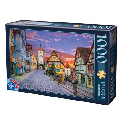 Puzzle Dtoys-62154-EC17 Rothenburg