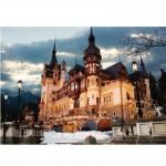 Puzzle  DToys-63038-MN07 Rumänien: Schloss Peles