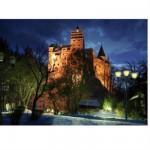 Puzzle  DToys-63038-MN09-(70746) Rumänien: Schloss Bran