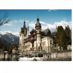 Puzzle  DToys-63052 Rumänien: Schloss Peles