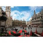 Puzzle  Dtoys-64288-FP01-(64288) Belgien: Grand Place, Brüssel