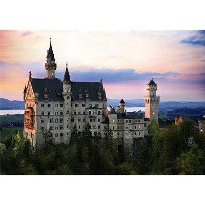 Puzzle DToys-64301-NL07 Bei Nacht - Deutschland: Schloss Neuschwanstein