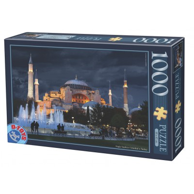 Puzzle  Dtoys-64301-NL11-(74829) Hagia Sophia, Istanbul