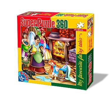 Puzzle  Dtoys-64561-FT-02 Aschenputtel macht den Haushalt