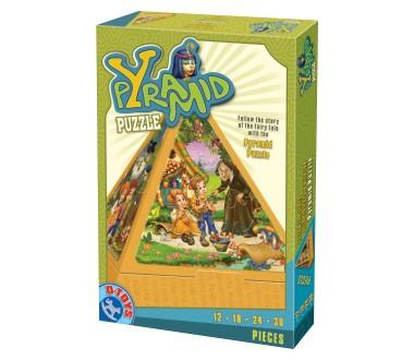 Dtoys-64868-PR-01 Pyramiden-Puzzle: Die Geschichte von Hänsel und Gretel