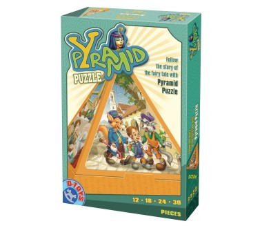 Dtoys-64868-PR-02 Pyramiden-Puzzle: Die Geschichte von Pinocchio