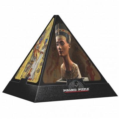 Dtoys-65957-PP01-(65957) 3D Pyramide - Ägypten: Die Götter / schwieriges Puzzle