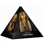 DToys-65957-PP02-(70432) 3D Pyramide - Ägypten: Masken / schwieriges Puzzle