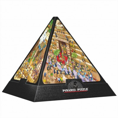 Dtoys-65964 3D Pyramide - Ägypten: Cartoon / schwieriges Puzzle