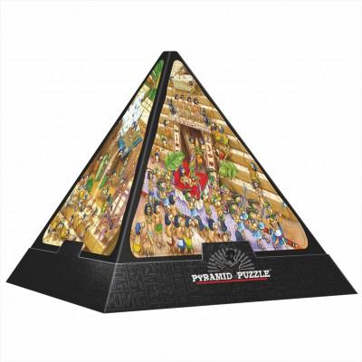 Dtoys-65964 3D Pyramide - Ägypten: Cartoon / schwieriges Puzzle