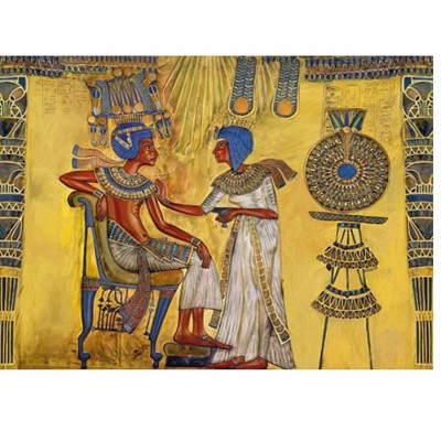 Puzzle  DToys-65971-EY01 Antikes Ägypten: Fresken