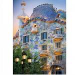 Puzzle  DToys-65995-DE04-(70357) Spanien - Barcelona, Casa Batllo