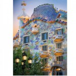 Puzzle  DToys-65995-DE04 Spanien - Barcelona, Casa Batllo