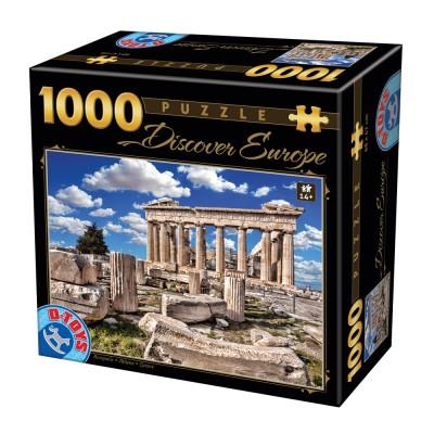 Puzzle  Dtoys-65995-DE05 Discover Europe - Akropolis