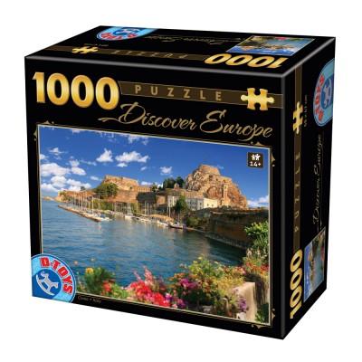 Puzzle Dtoys-65995-DE07 Discover Europe - Como, Italien