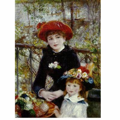 Puzzle  Dtoys-66909 Renoir: Auf der Terrasse