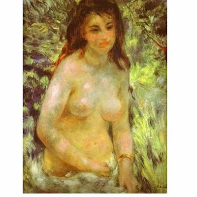 Puzzle  Dtoys-66909-RE04-(70326) Renoir: Nu dans le soleil