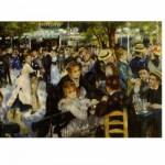 Puzzle  DToys-66909-RE06 Renoir: Le bal du Moulin de la Galette