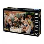 Puzzle  Dtoys-66909-RE09-(74584) Auguste Renoir - Das Frühstück der Ruderer