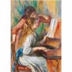 Puzzle  DToys-66909-xxRE09 Renoir: Jeunes filles au piano