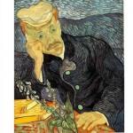 Puzzle  DToys-66916-VG06 Van Gogh: Portrait des Dr. Gachet