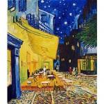 Puzzle  DToys-66916-VG09-(70180) Van Gogh: Caféterrasse am Abend