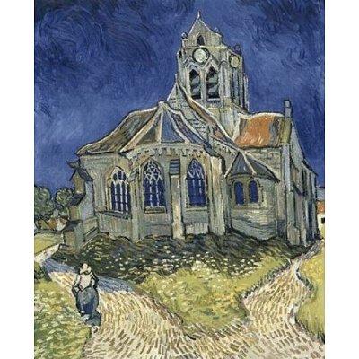 Puzzle  DToys-66916-VG10-(70173) Van Gogh: Die Kirche von Auvers sur Oise