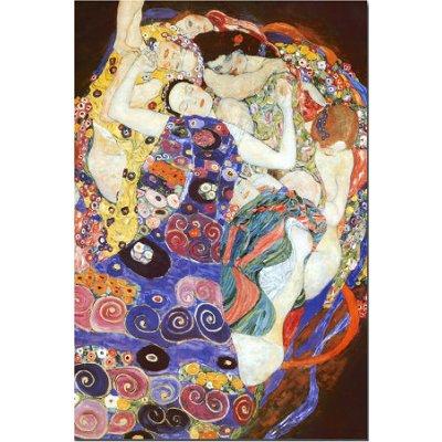 Puzzle  DToys-66923-KL05-(70135) Gustav Klimt: Die Jungfrau