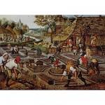 Puzzle  Dtoys-66947-BR01-(66947) Brueghel: Frühling