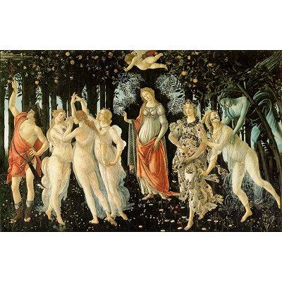 Puzzle  DToys-66954-RN05 Botticelli: Der Frühling
