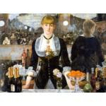 Puzzle  Dtoys-66961 Manet: Bar der Folies Bergères
