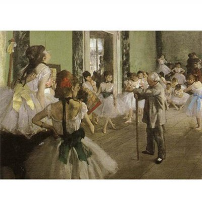 Puzzle DToys-66961-IM03 Degas: Die Tanzstunde