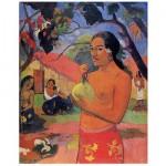 Puzzle  DToys-66961-IM06 Gauguin: Tahitische Frau mit Frucht
