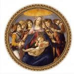 Puzzle  Dtoys-66985-TM01-(66985) Botticelli: Madonna della Melagra
