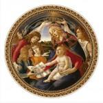 Puzzle  DToys-66985-TM02-(69788) Botticelli: Madonna del Magnifica