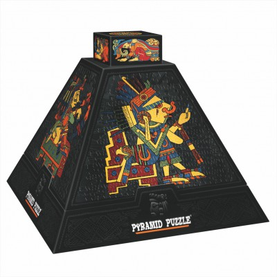DToys-66992 3D Pyramide - Ägypten: Prekolumbianische Kunst 1 / schwieriges Puzzle