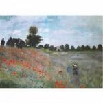 Puzzle  Dtoys-67548-CM01-(67548) Monet: Das Mohnfeld